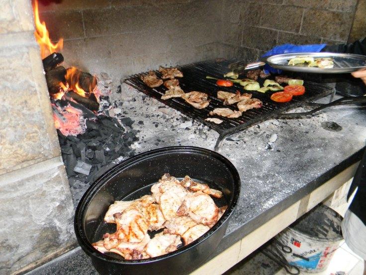 Konoba Škojera meso na gradele