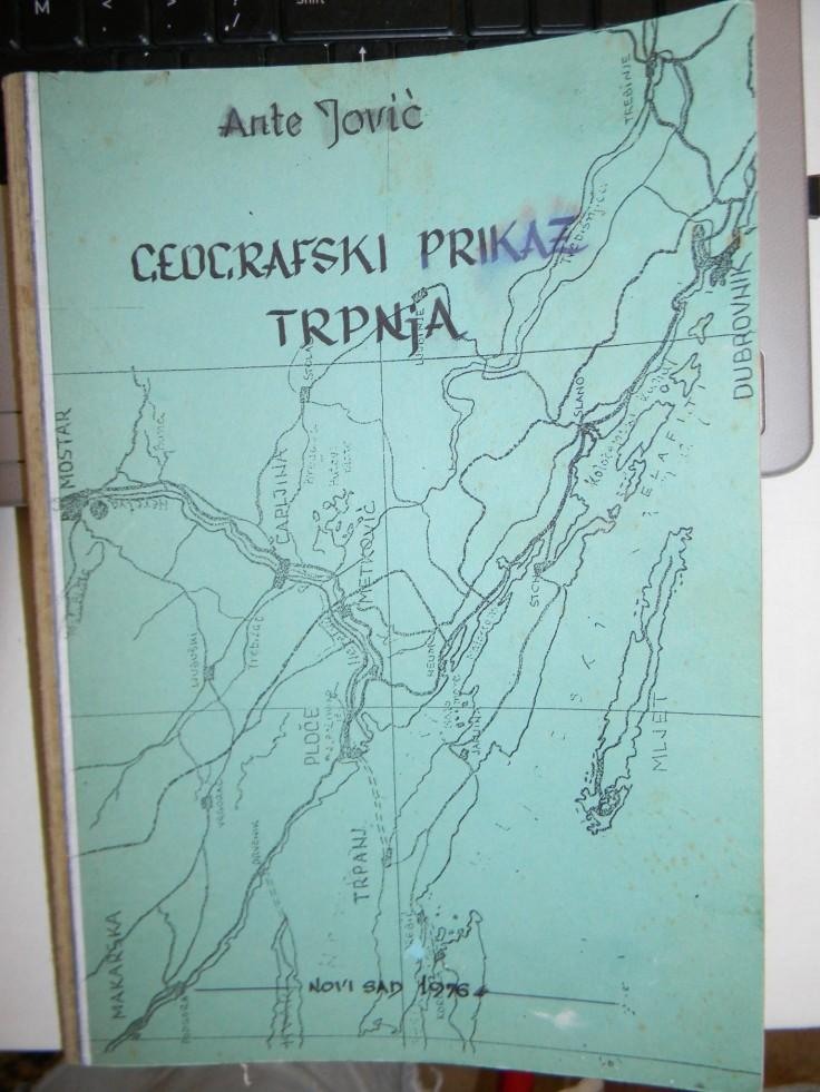 Geografski Prikaz Trpnja Ante Jovic