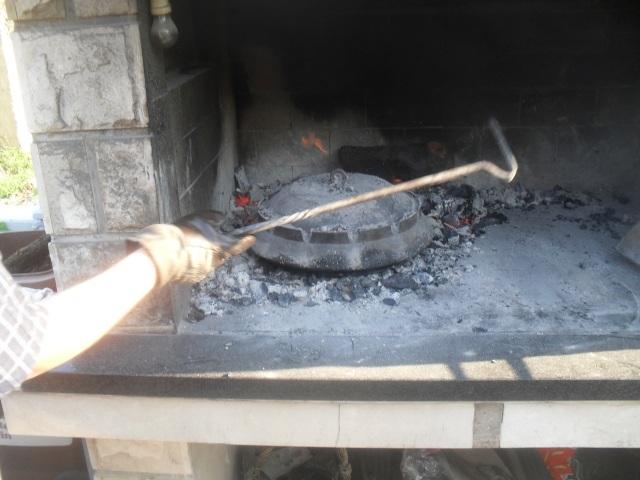 Konoba Škojera janetina ispod peke