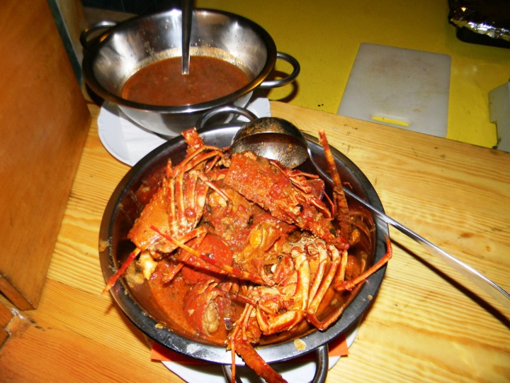 Konoba Skojera Trpanj Croatia Brodetto, Lobster in Sauce and Grilled Lobster
