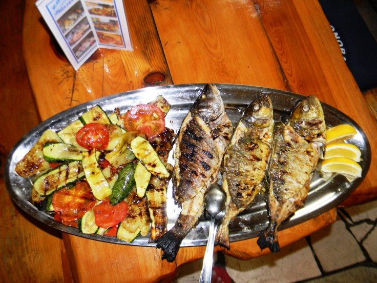 Brodetto, Lobster in Sauce, Grilled Fish and Lobster Konoba Skojera Trpanj Croatia