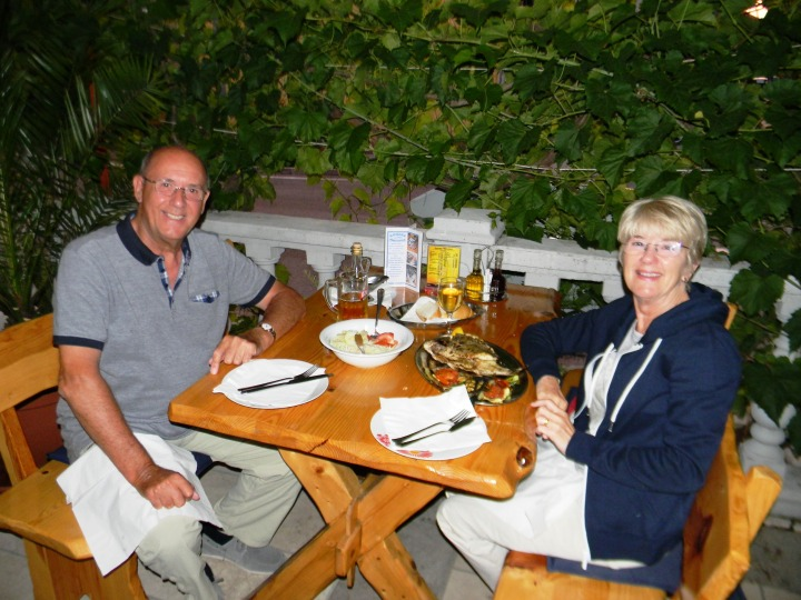 Meg and Jim of Worcester England are in Town
