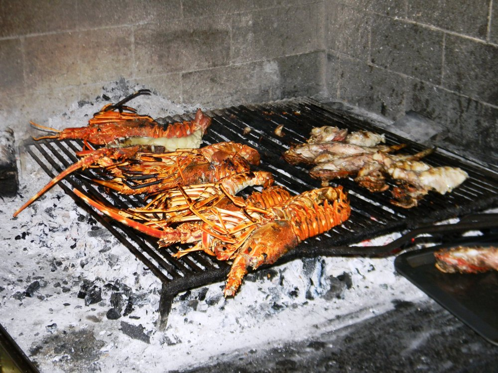 konoba skojera trpanj croatia grilled lobster