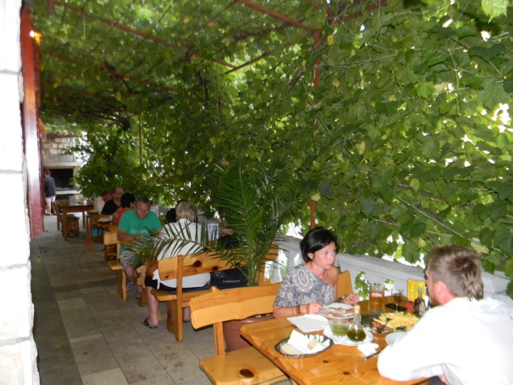 Konoba Skojera Trpanj Croatia the best food at your table