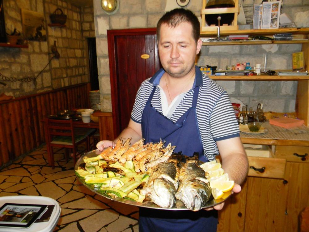 Konoba Skojera Trpanj Croatia where to eat the best food restaurant