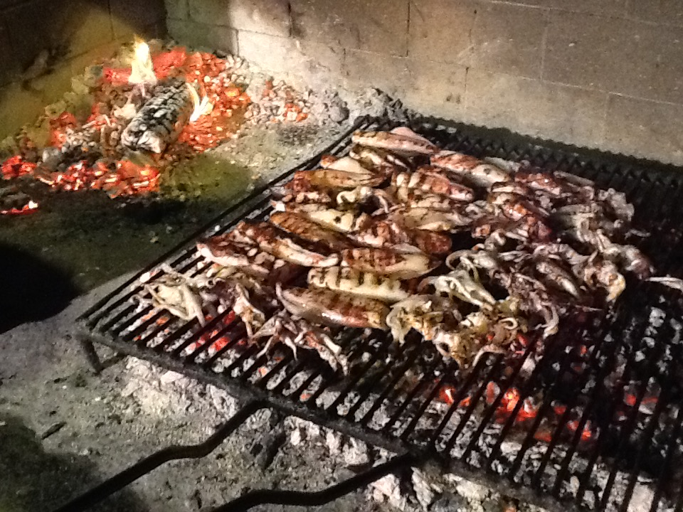 Konoba Skojera Trpanj Restaurants daily specialties grilled calamari