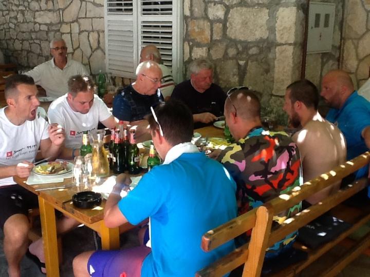 restaurants restoran trpan The Seventh International Boccie Tournament