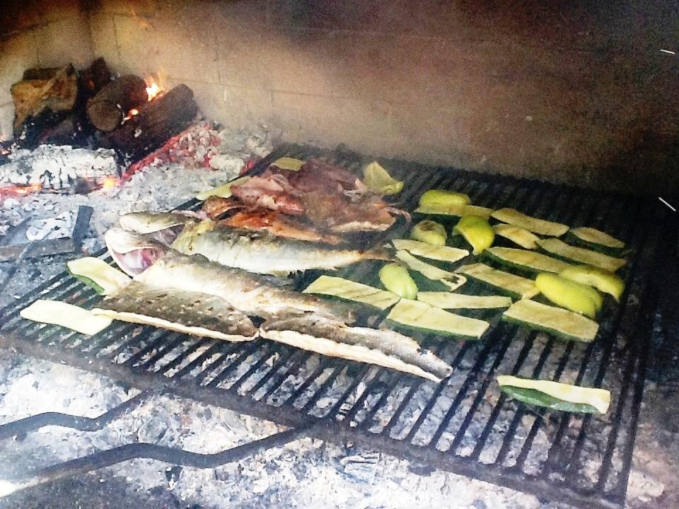 konoba trpanj stari ribar restoran grilled fish meat