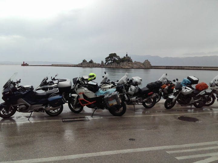 motorcycle and bicycle riders are very welcome to konoba skojera