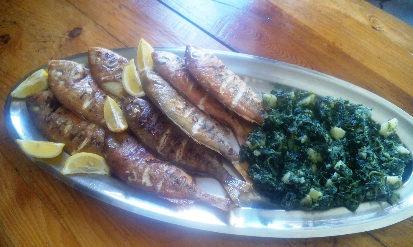 grilled fish konoba skojera trpanj croatia