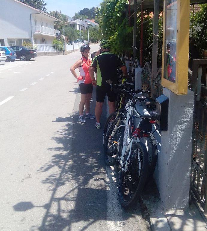 bicyclers bikers friendly restaurants konoba skojera trpanj peljesac croatia