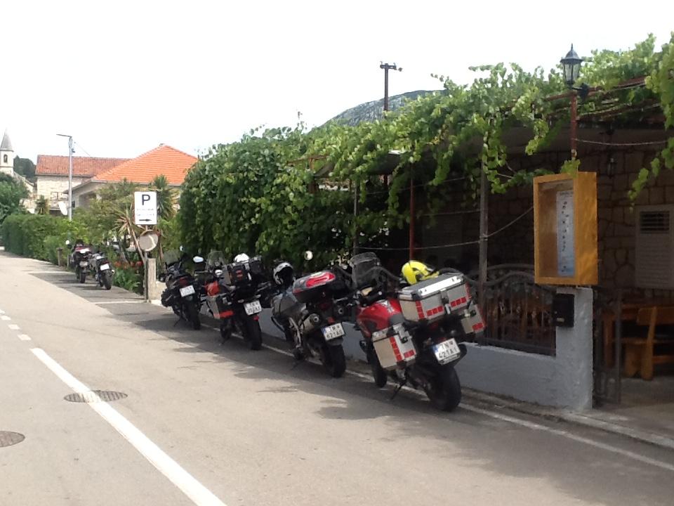 bikers friendly restaurant trpanj