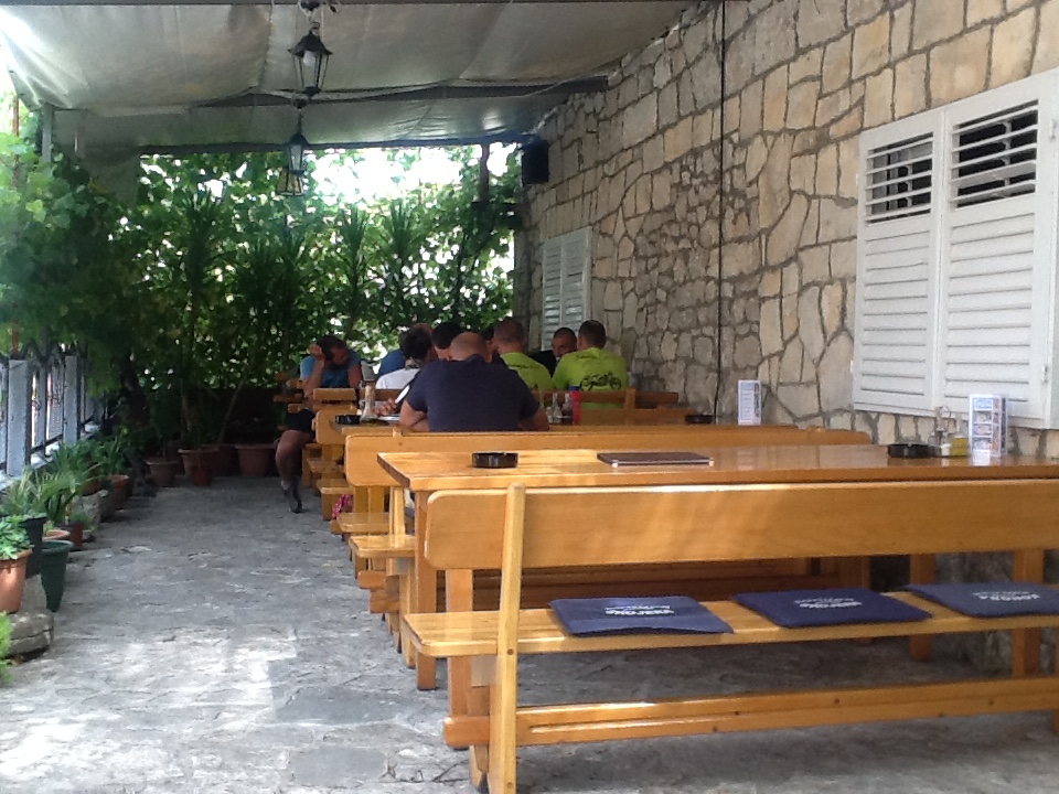 bikers friendly restaurant trpanj