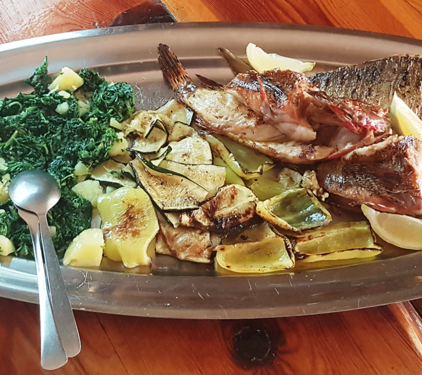 restaurant trpanj croatia grilled fish