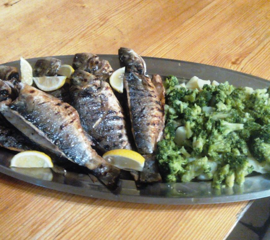 grilled fish Norway