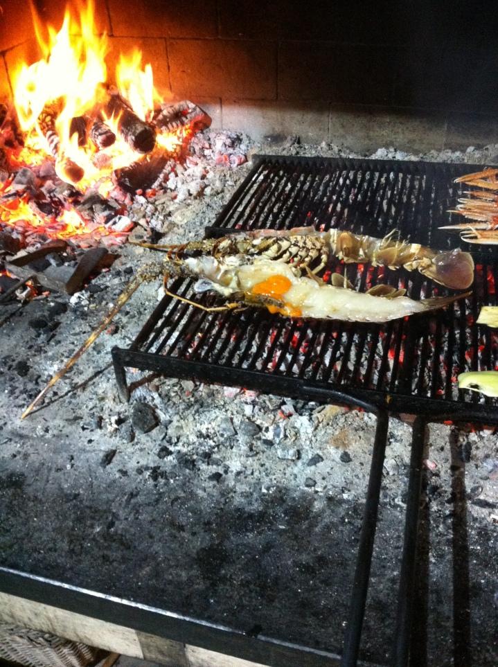 konoba trpanj grilled adriatic lobster