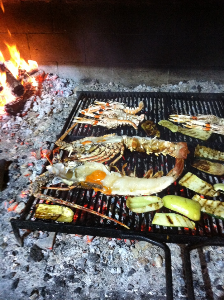 konoba trpanj grilled adriatic lobster
