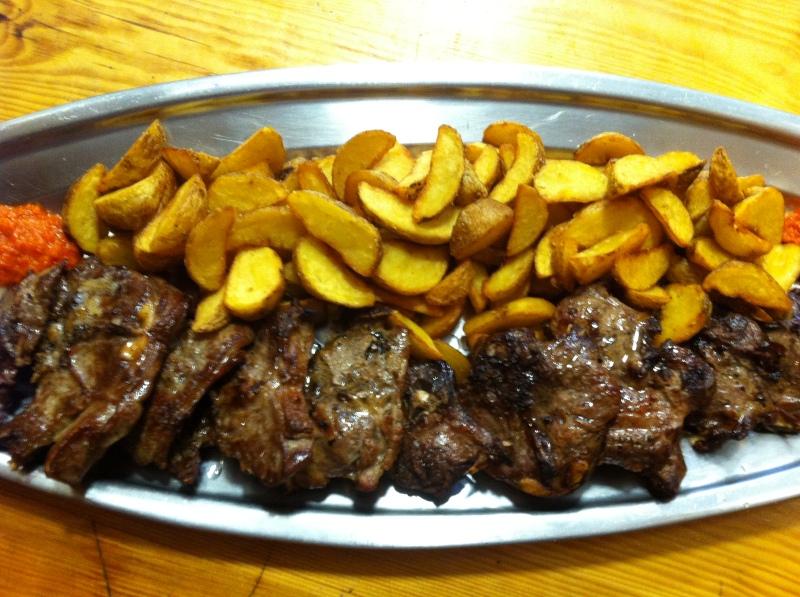 grilled lamb konoba trpanj restaurant