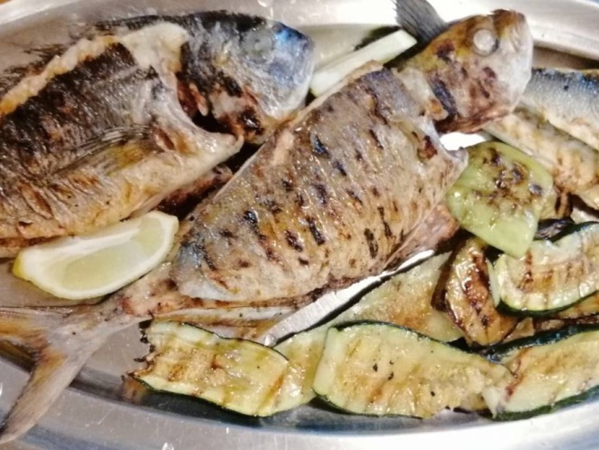 grilled fish Friday